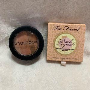 Too Faced Smashbox Bronzer Makeup Lot of 2